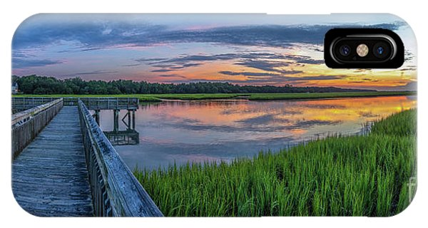 Heritage Shores Nature Preserve Sunrise IPhone Case