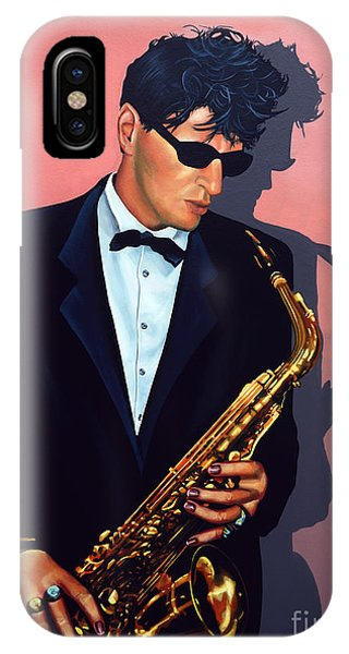 Rock And Roll iPhone Case - Herman Brood by Paul Meijering