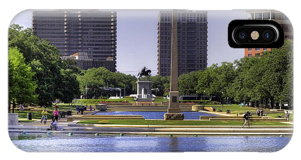 Hermann Park IPhone Case