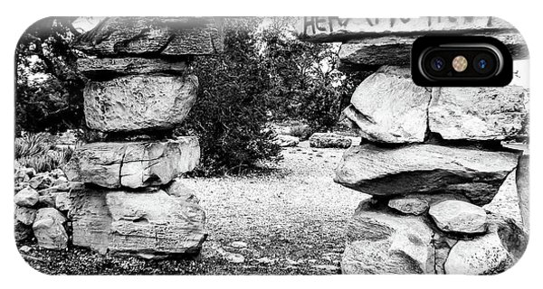 Hermit's Rest, Black And White IPhone Case