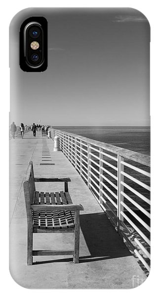 Hermosa Beach Seat IPhone Case
