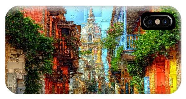 Heroic City, Cartagena De Indias Colombia IPhone Case