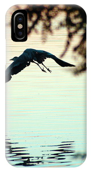 Heron At Dusk IPhone Case