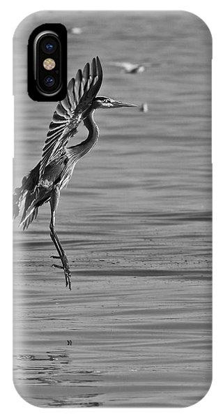 Heron Ballet IPhone Case