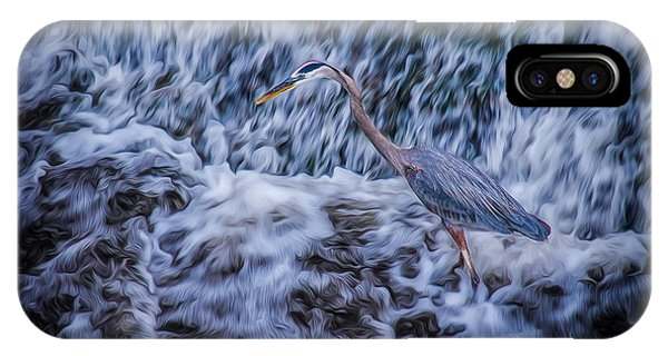 Heron Falls IPhone Case