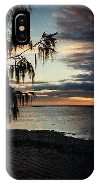 Heron Island Sunset  IPhone Case