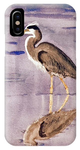 Heron No. 2 IPhone Case