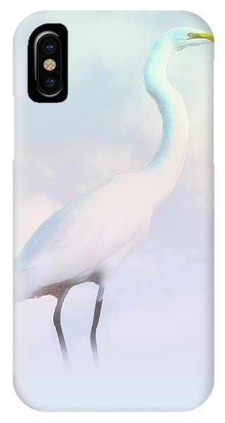 Heron Or Egret Stance IPhone Case