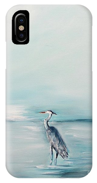 Heron Silence IPhone Case