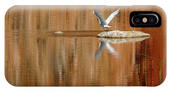 Heron Tapestry IPhone Case