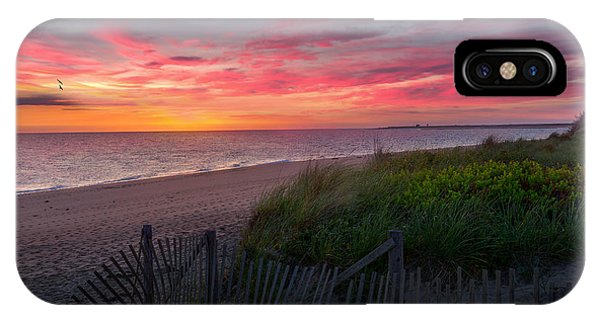 Herring Cove Beach Sunset IPhone Case