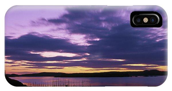 Herring Weir, Sunset IPhone Case