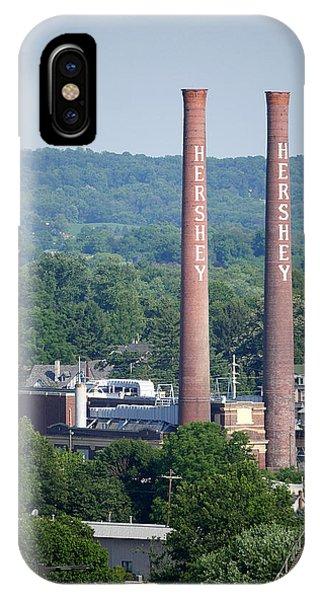Hershey Smokestacks IPhone Case