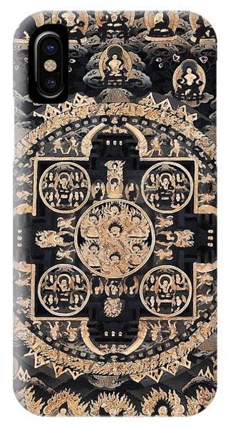 Siddharta iPhone Case - Heruka Yab Yum Mandala by Lanjee Chee