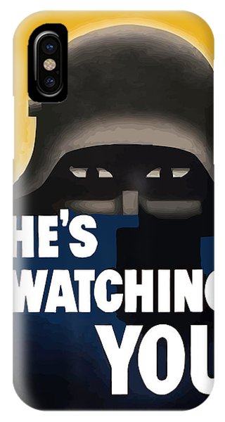 Germany iPhone Case - He's Watching You - Ww2 by War Is Hell Store