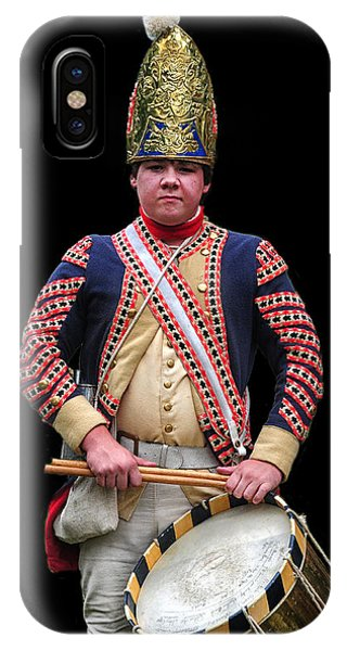 Hessian Grenadier Drummer IPhone Case