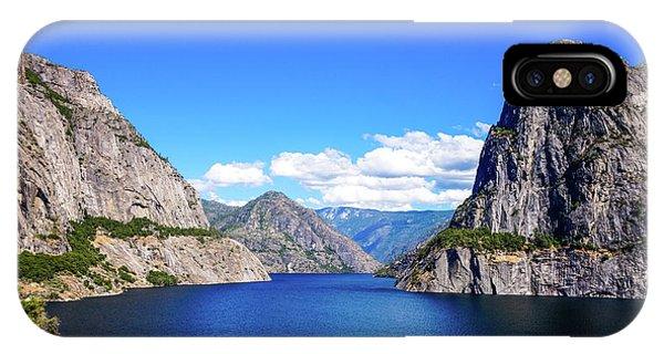 Hetch Hetchy Reservoir Yosemite IPhone Case