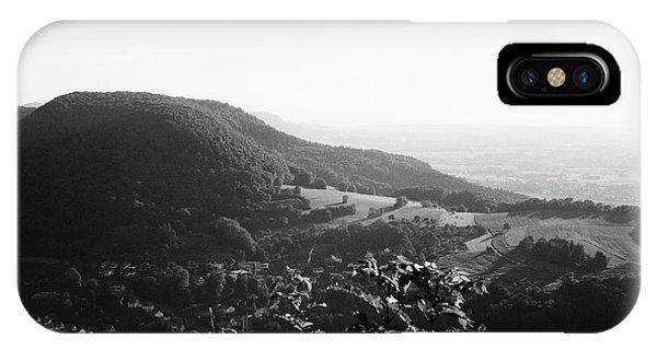 Heubach View Towards Scheuelberg IPhone Case