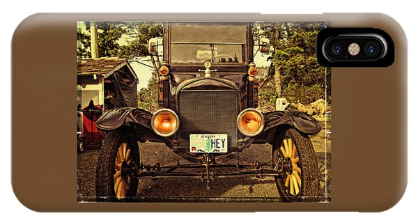 Hey A Model T Ford Truck IPhone Case