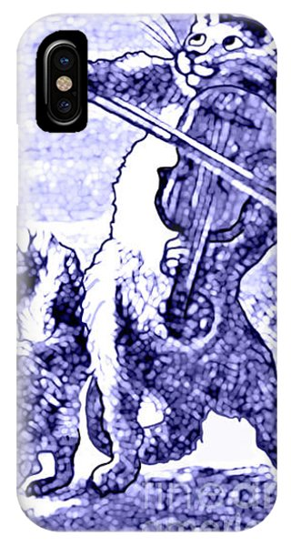 Hey Diddle Diddle The Cat And The Fiddle Nursery Rhyme IPhone Case