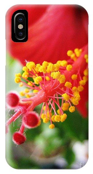 Hibiscus #3 IPhone Case