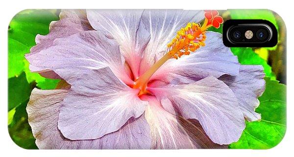 Hibiscus Adele 1 IPhone Case