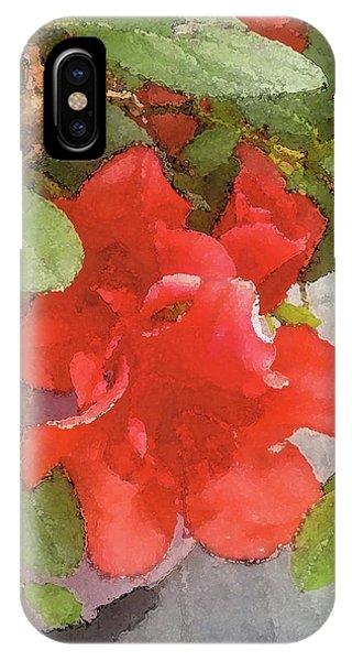 Hibiscus B IPhone Case