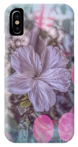 IPhone Case featuring the photograph Hibiscus by Elaine Teague