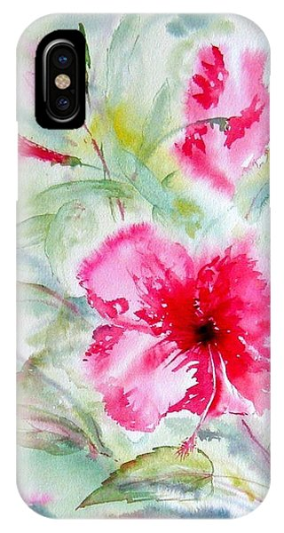 Hibiscus Fantasy IPhone Case