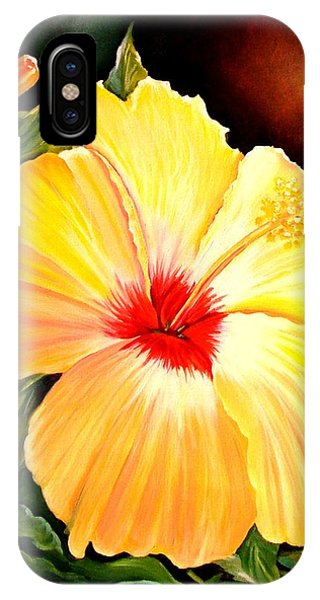 Hibiscus Glory IPhone Case