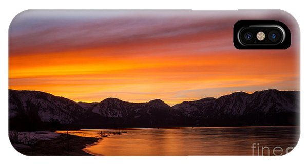 Hidden Beach Sunset IPhone Case