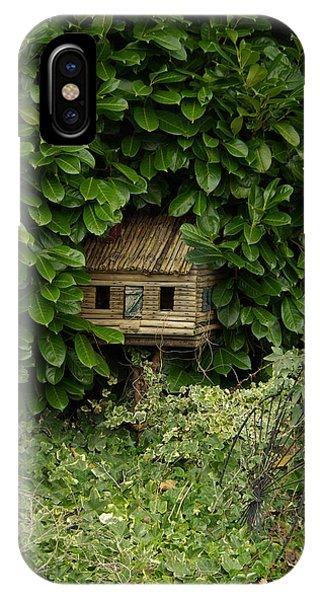 Hidden Birdhouse IPhone Case