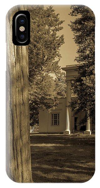 IPhone Case featuring the photograph Hidden Columns  by James L Bartlett