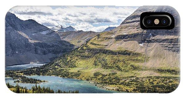 Hidden Lake Overlook IPhone Case