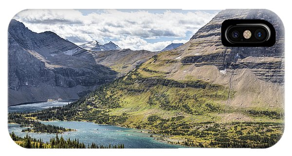 Hidden Lake Overlook IPhone Case