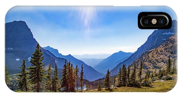 IPhone Case featuring the photograph Hidden Lake Valley Glacier National Park by Lon Dittrick