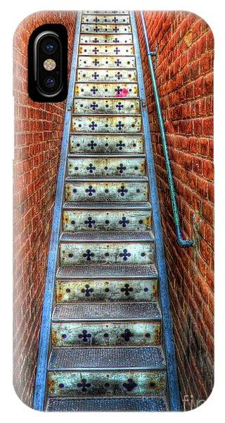 Hidden Stairway In Old Bisbee Arizona IPhone Case