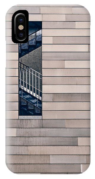 Minimalist iPhone Case - Hidden Stairway by Scott Norris