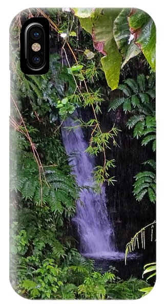 Small Hidden Waterfall  IPhone Case