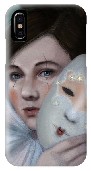 Hiding Behind Masks IPhone Case