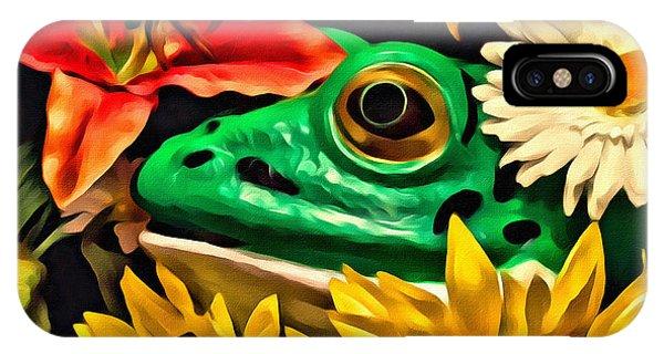 Hiding Frog IPhone Case
