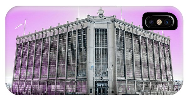 Higgins Armory In Infrared IPhone Case