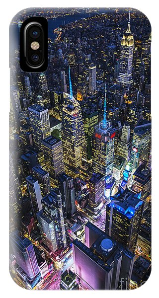 High Above The City IPhone Case
