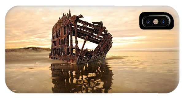 High And Dry, The Peter Iredale IPhone Case