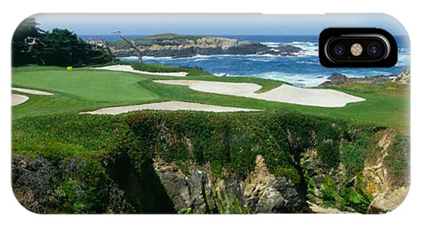 Physical iPhone Case - High Angle View Of A Golf Course by Panoramic Images