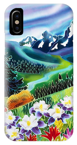 Rocky Mountain iPhone Case - High Country by Harriet Peck Taylor
