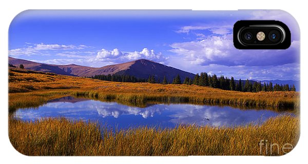 High Country Pond IPhone Case