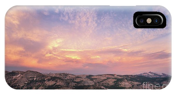 IPhone Case featuring the photograph High Country View by Sharon Seaward