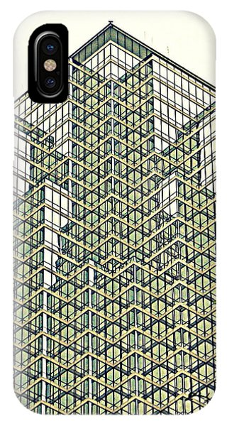 Downtown Dallas IPhone Case