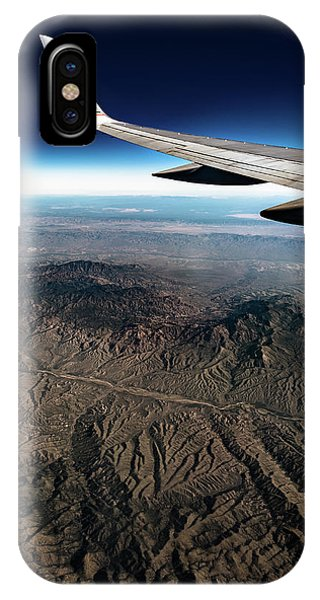 IPhone Case featuring the photograph High Desert From High Above by T Brian Jones